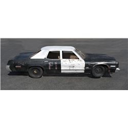 "The Blues Brothers model miniature ""Blues Mobile"" police car."