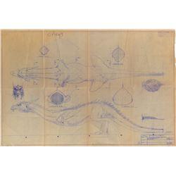 Dragon miniature production blueprint for Dragonslayer.