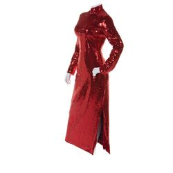 """Dustin Hoffman """"Dorothy Michaels"""" signature red sequined dress from Tootsie."""