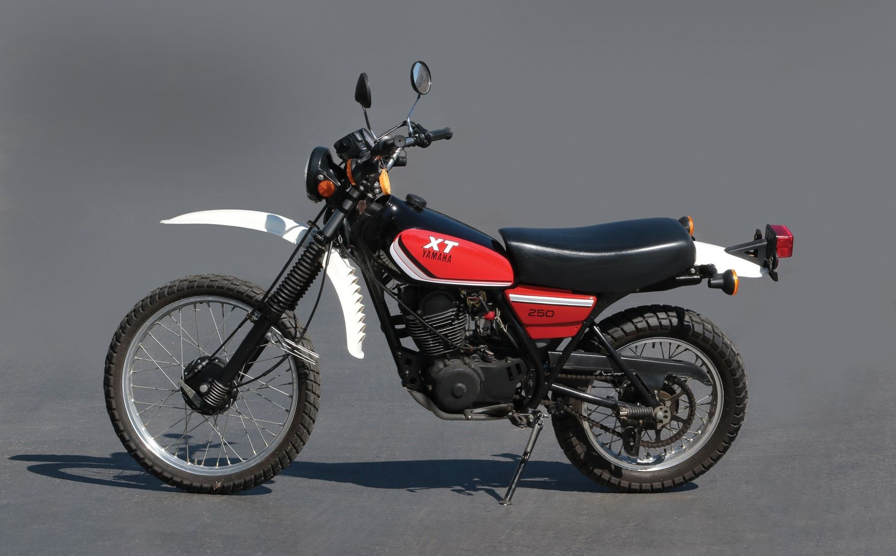 "Sylvester Stallone ""John Rambo"" Yamaha XT250 motorcycle from First Blood"