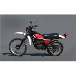 "Sylvester Stallone ""John Rambo"" Yamaha XT250 motorcycle from First Blood"