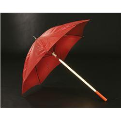 Blade Runner futuristic illuminating umbrella.