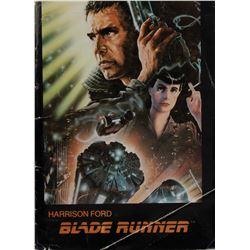 Blade Runner assistant art director Stephen Dane's original press kit including (13) photographs.