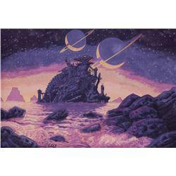 """Greg Hildebrandt Krull """"Black Fortress"""" artwork."""