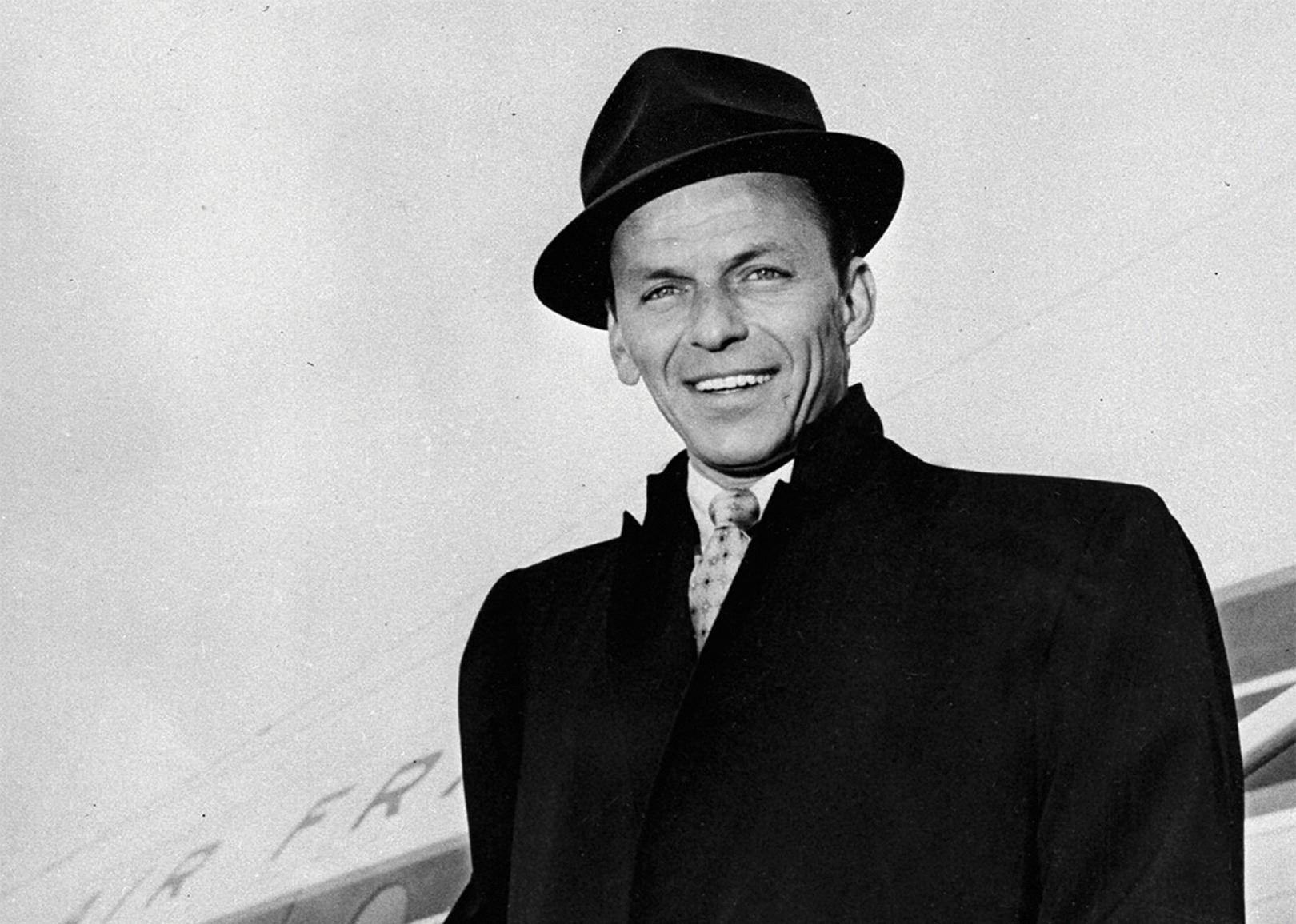 9498e1631 Frank Sinatra stage worn signature Borsalino Fedora.