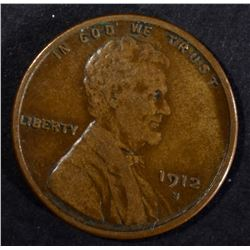 1912-S LINCOLN CENT VF