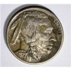 1927-S BUFFALO NICKEL, XF