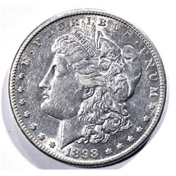1898-S MORGAN DOLLAR, BU