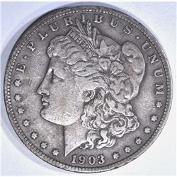 1903-S MORGAN DOLLAR, XF