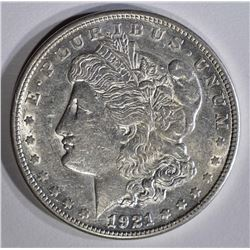 1921-S MORGAN DOLLAR CHBU