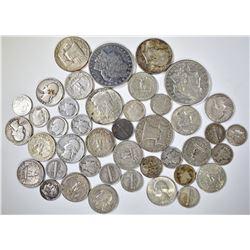 $10.00 FACE - MIXED SILVER COINS