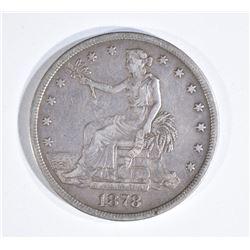 1878-S TRADE DOLLAR  NICE VF