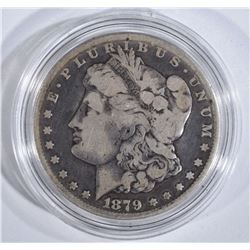 1879-CC MORGAN DOLLAR  VG