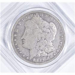 1882-CC MORGAN DOLLAR  VG/F