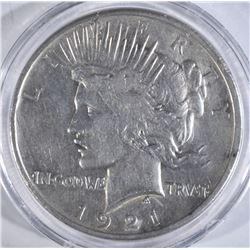1921 PEACE DOLLAR  XF+