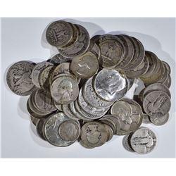 $20.00 FACE -  MIXED 90% SILVER COINS