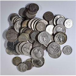 $10.00 FACE VALUE 90% SILVER COINS