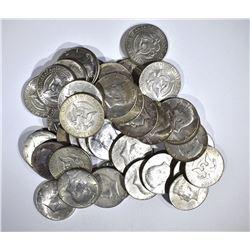 $20 FACE KENNEDY HALF DOLLARS