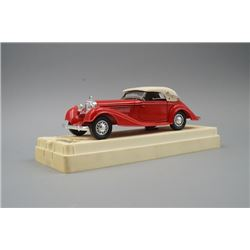"""A """"Mercedes Benz"""" Car Model Made in France By Solido."""