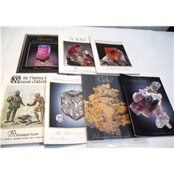 Mineral Species & Mineral Collections (7 Books)