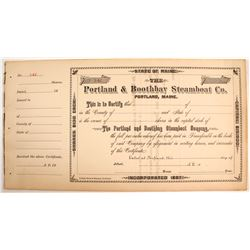 Portland & Boothbay Steamboat Co Stocks (15)