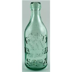 PRIEST'S NATURAL SODA BOTTLE