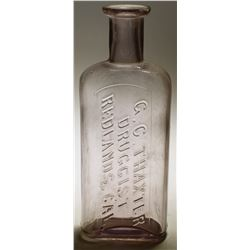 G. C Thaxter Druggist Bottle