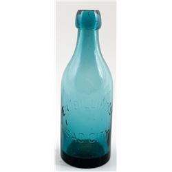 E. L. BILLING'S SODA BOTTLE