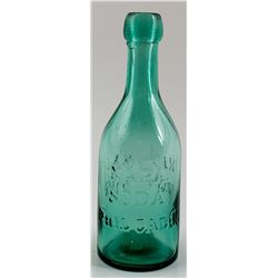 NAPA SODA BOTTLE  /  PHIL CADUC
