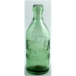 AETNA MINERAL WATER BOTTLE