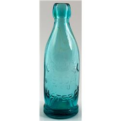 CRYSTAL WATER CO. SODA BOTTLE