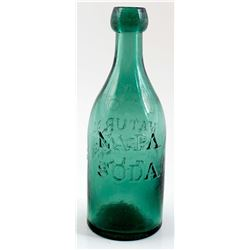 NAPA SODA BOTTLE /  T.A.W.