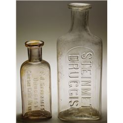 Steinmetz  Druggist  Bottles (2 items)