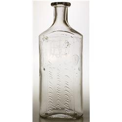 Mc Cullough's Pharmacy Bottle, In script