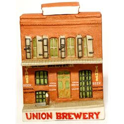 Union Brewery Building Figural Give Away
