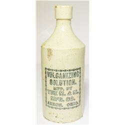 Vulcanizing Solution /  Ceramic Bottle
