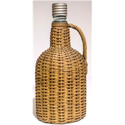 Ground Top Aqua Whiskey in Wicker