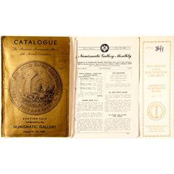 ANA Auction Catalog
