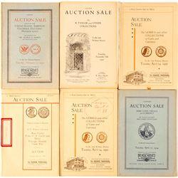 Max Mehl Auction Catalogs