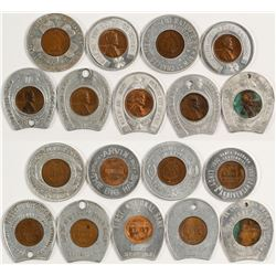 Encased Pennies