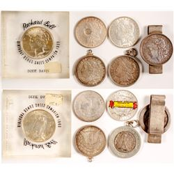 Silver Dollars in Various Uses