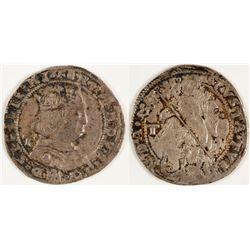 Ferdinand I AR Coranato Coin
