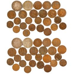 19th Century French Coin Collection