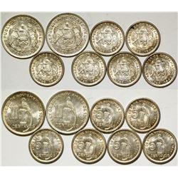 Guatamala Silver Coins