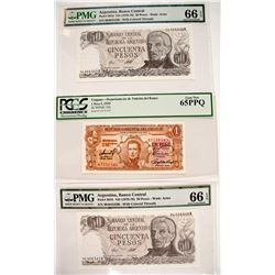 South American Certified Currency