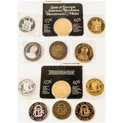Half Dozen Georgia Medals