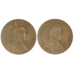 Otto V. Bismark Silver Medal
