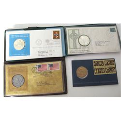 Silver and Bronze Commemorative Medals