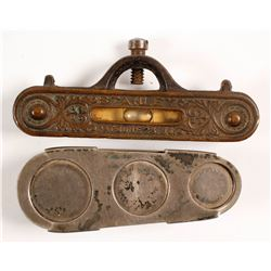 Antique Line Level/ Sterling Token Dispenser