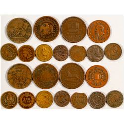 Hard Times and Civil War Tokens
